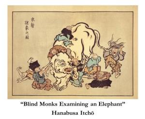 Blind Monks Examining an Elephant (Hanabusa Itcho)